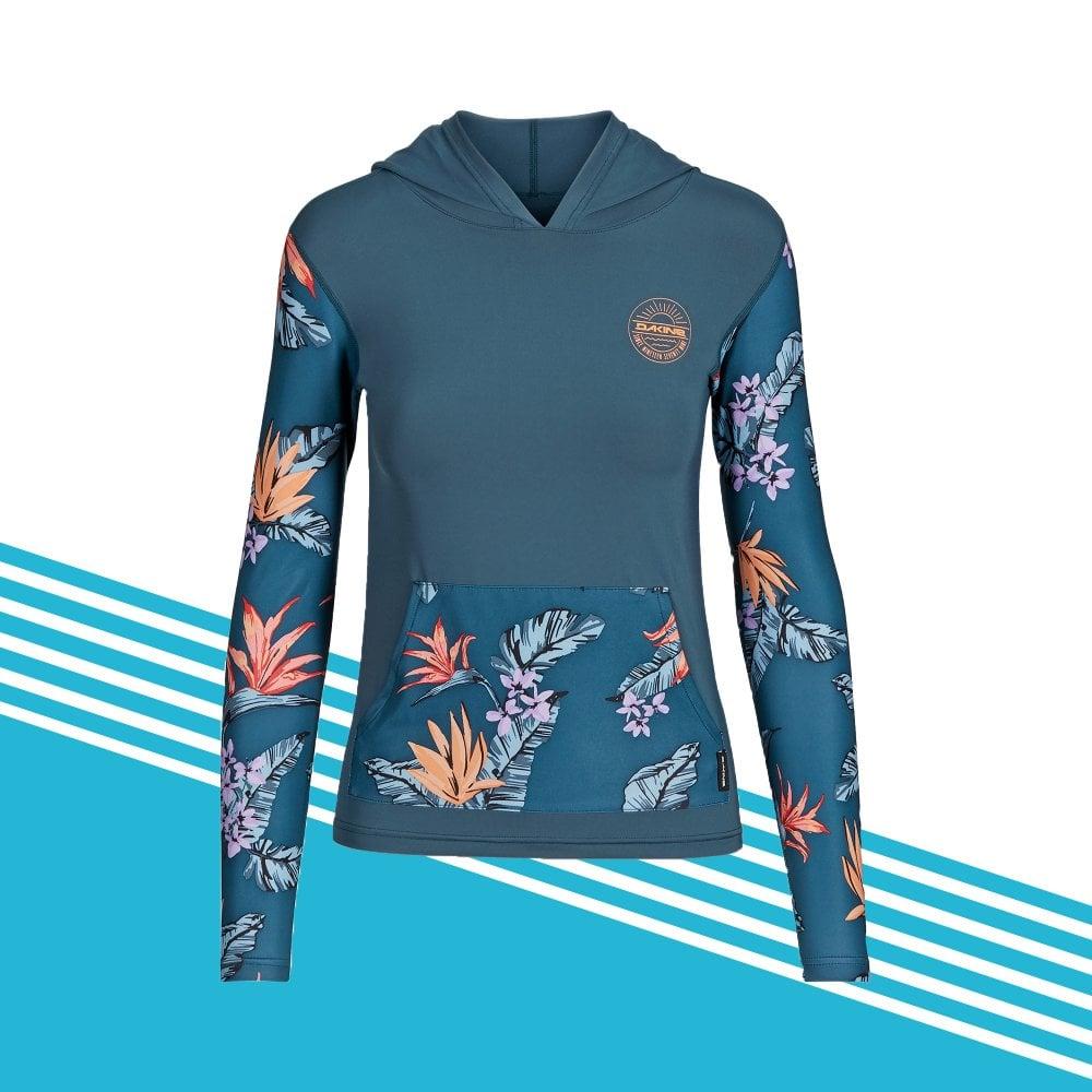 najlepsza wartość kod promocyjny ponadczasowy design Flow Hooded Loose Fit Long Sleeve Shirt
