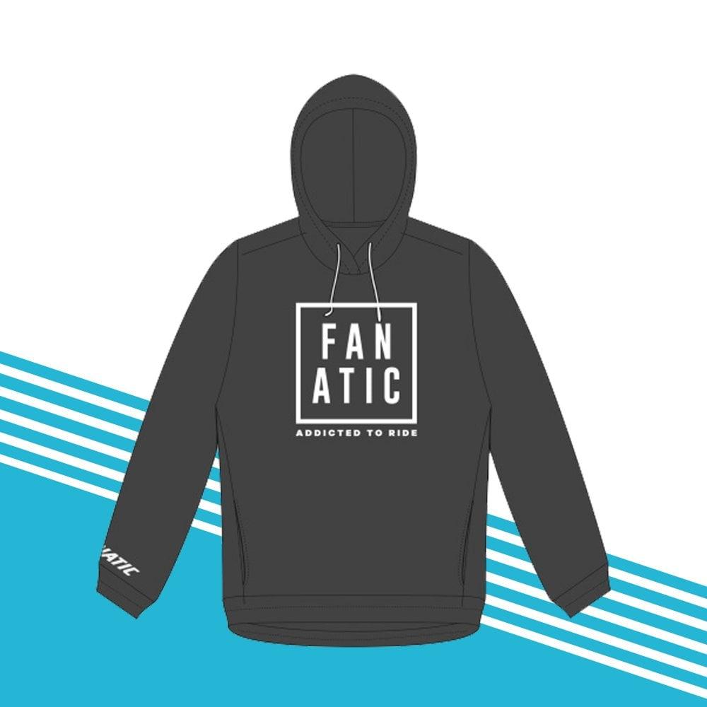 MEDIUM Fanatic Hooded Sweatshirt GREY