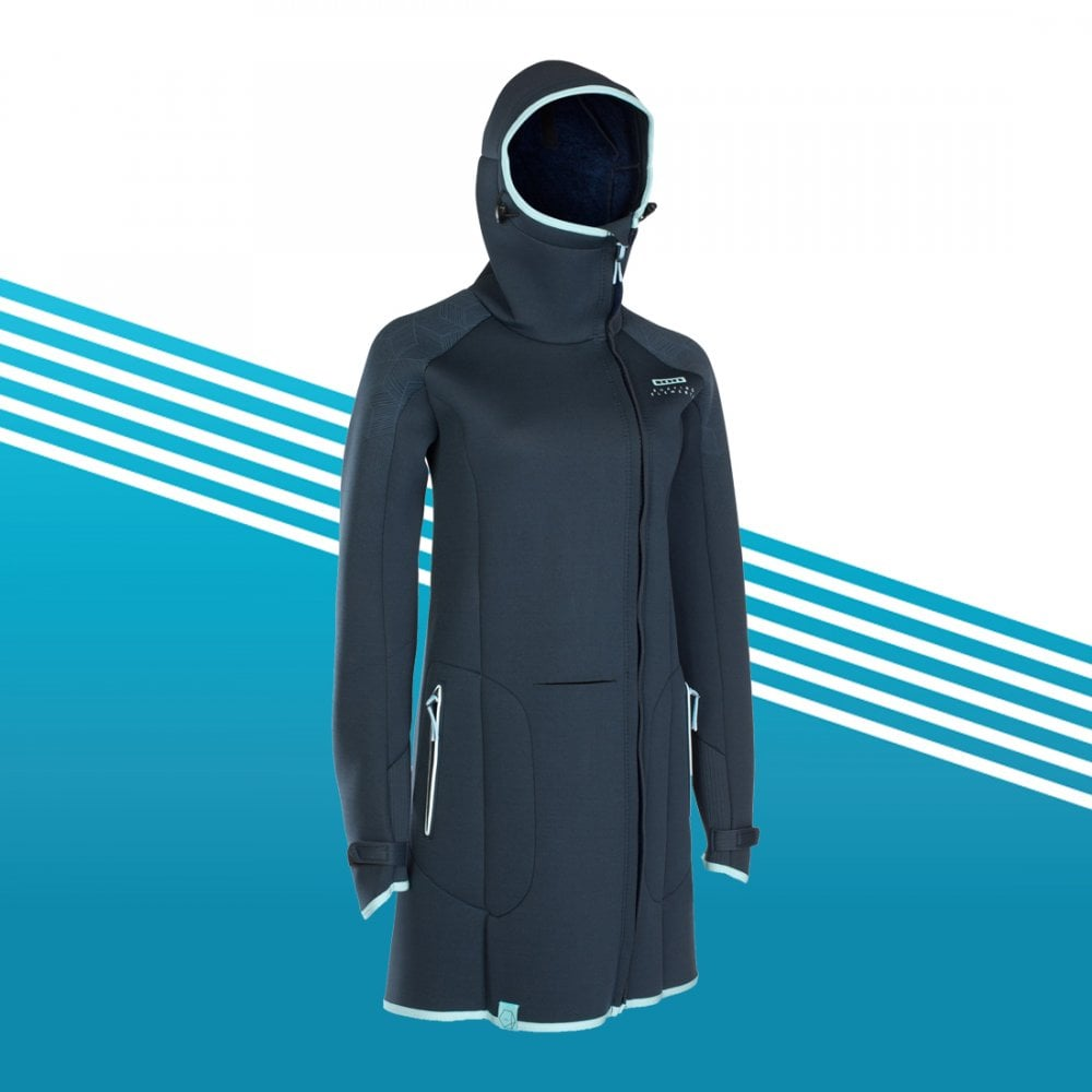ION Neo Cosy Coat Amp   Wetsuits from The SUP Company UK